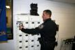 Amsterdam PD uses LEIDs Electronic Cabinet for easy streamlined distribution and tracking of shared department assets including Tasers, Tint Meters, Alco-Sensor, and OC spray.
